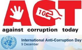 Міжнародний день боротьби з корупцією